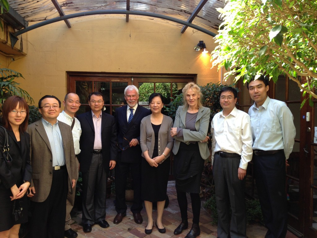 Guangan China  city pictures gallery : Dr. Daniel Weber with China Delegation from Beijing GuangAn Men ...
